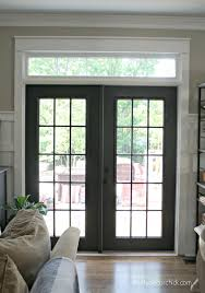 black french doors patio.  Patio Black Doorsnever Would Have Thought Of It In French Doors Patio Pinterest