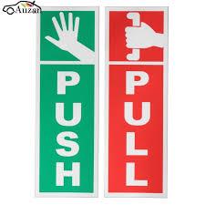 pull door sign. Delighful Pull PUSH U0026 PULL Door Window Gloss Laminated Warning Sign Vinyl Waterproof Decal  Sticker On Pull K