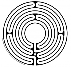 Labyrinth Patterns Custom Decoration
