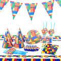 51pcs <b>Dinosaur Theme Napkins Decorate</b> Flags Cups Birthday ...
