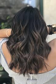 Dark Brown Hair Light Brown Balayage Balayage For Black Hair Indian Hair Coloring