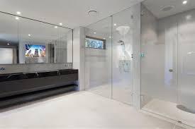 bathroom amazing tv behind mirror bathroom home interior design simple simple to room design ideas