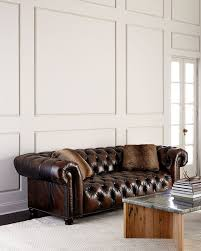 10 best leather chesterfield sofas