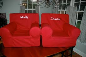 ... Chair, Red Rectangle Rustic Fabric Pottery Barn Kids Chair Ideas With  Curtain Or Lamp:
