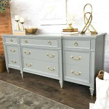 Beautiful Grey Bedroom Dressers Grey Painted Dresser With Gold Hardware More Grey  Wood Bedroom Dressers . Grey Bedroom Dressers ...