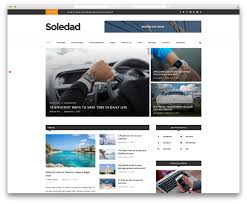 Website Template Newspaper Top 6 News Wordpress Themes For Blogging And News Sites