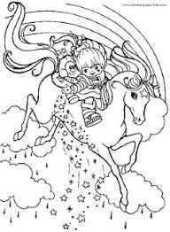rainbow brite color page cartoon characters coloring pages color plate coloring sheet printable coloring picture