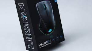 <b>Lenovo Legion M500</b> – Ergonomic Mouse for Gaming? - YouTube
