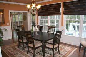 casual dining room lighting. Cool Colonial Dining Room Furniture For Better Look : Simple Dark Table And Comfy Casual Lighting D