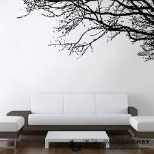 wall art ideas design amazing stunning tree branches wall art interior design white couch sofa seating handmade premium material high quality exciting