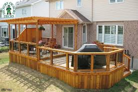 diy wooden deck designs. deck with pergola plans thes plan is for a very large l shaped over the spa top 1500 best designs ideas part diy wooden