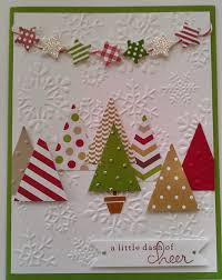 Christmas Card Picture Could Use The Tree Punch To Make This Card Fast Stampin Up