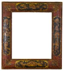 antique picture frames. Lot 1: A 17th Century Baroque Spanish Cushion Frame, With Gilt Astragals On  The Top And Sight Edge; Frieze Gilded Panels Decorated Antique Picture Frames
