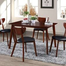 bulgera modern wood 5 piece dining set bulgera modern wood 5 piece dining set dinning chairs dining room