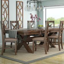 modren set isabell 7 piece dining set and farmhouse n