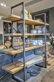 Steel Shelf For Kitchen 17 Best Ideas About Metal Shelves On Pinterest Metal Shelving