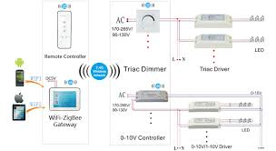 similiar lighting control wiring diagram keywords zigbee wireless controlling led tri proof lihgt pc housing 1200mm 50w