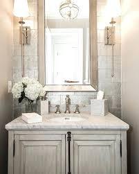 powder room chandelier elegant custom craft contractors lighting above mirror