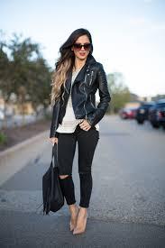 nordstrom fringe bag zara leather moto jacket fall fashion inspo black fringe bag fall 2016 top jeans