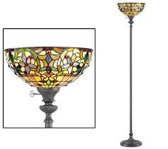 uplighter floor lamp glass none with dimmer switch