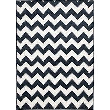 deluxe outdoor rug  chevron navy – razzino furniture