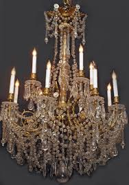 antique french belle epoch baccarat chandelier chc4 for