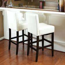 decorating cute white leather counter stools bar contemporary modern height winsome 1