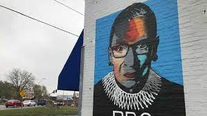 Mural is the tool that fuels our remote design studios at github. New Rbg Mural In Westport Getting Attention