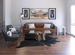 Century Designer Studio Contemporary Industrial Rustic Living Room Design By