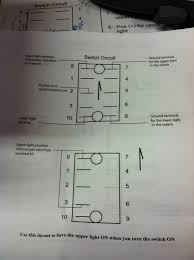otrattw switches in factory switch panel install toyota fj 8 is the power in for the upper light 7 is the ground for the upper light 2 is the power in for the accessory 3 is the power out for the accessory
