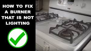 What Causes A Gas Stove Not To Light Gas Range Not Igniting Easy Fix