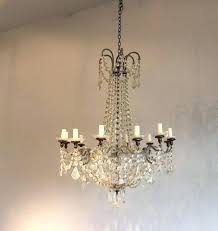 pottery barn beaded chandelier ceiling lights white crystal coco bead wine glass clear earrings chandel glass bead chandelier