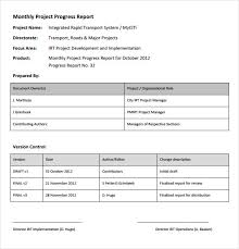 Project Progress Report Sample Status Report Sample Mobile Discoveries