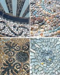 Small Picture 63 best Stone Pebble Art images on Pinterest Pebble mosaic