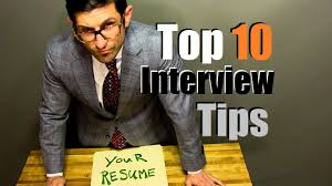 top interview tips to crush your interview