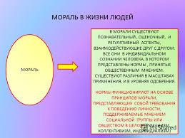 Презентация на тему МОРАЛЬ И НРАВСТВЕННОСТЬ Скачать бесплатно  11 МОРАЛЬ
