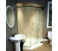 corner shower stall dimensions. Small Shower Stall Bathroom Design Interesting Kits With Unique Glass Medium Size . Corner Dimensions