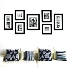 gallery perfect 7 piece frame set photo hang your own 9 black