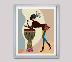 african american art african wall art decor african woman african art painting black woman painting black woman on african woman wall art with african american art african wall art decor african woman african