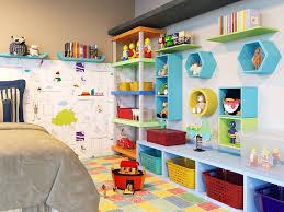 45 ideias de nichos para quartos para organização e decoração de casa. Quarto Infantil Com Estante Para Brinquedos Leroy Merlin