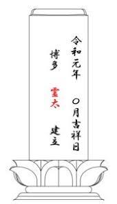 お墓建立日に元号令和元年を彫刻しませんか 生前でお墓を建てる事の