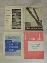 Old Brochures Various Old Brochures Recorder Flute Sheet Music Directory