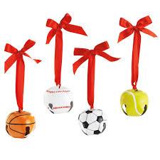 sports ornaments - balls