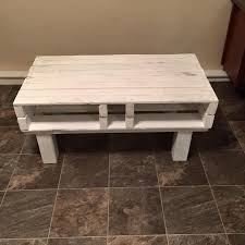 diy white pallet coffee table diy white rustic pallet coffee table