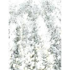 white fuzzy rugs fuzzy rugs gray rug silver area rug white fluffy grey gy coffee