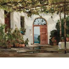 spanish patio by anthony thieme on artnet