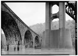 Pennsylvania Railroad West Tunnel Viaduct Spanning