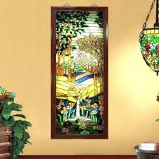 stained glass on wall stained glass wall decal plus wall art designs stained glass custom within remodel 2 stained glass wallpaper border