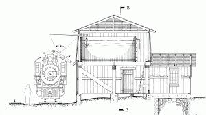 free model railroad plans water tower east broad top narrow gauge railway