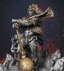 Veer Hanuman Angry Images Wallpaper Hd ...